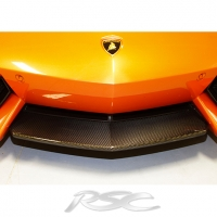 Lamborghini Aventador Carbon Fiber Center Splitter